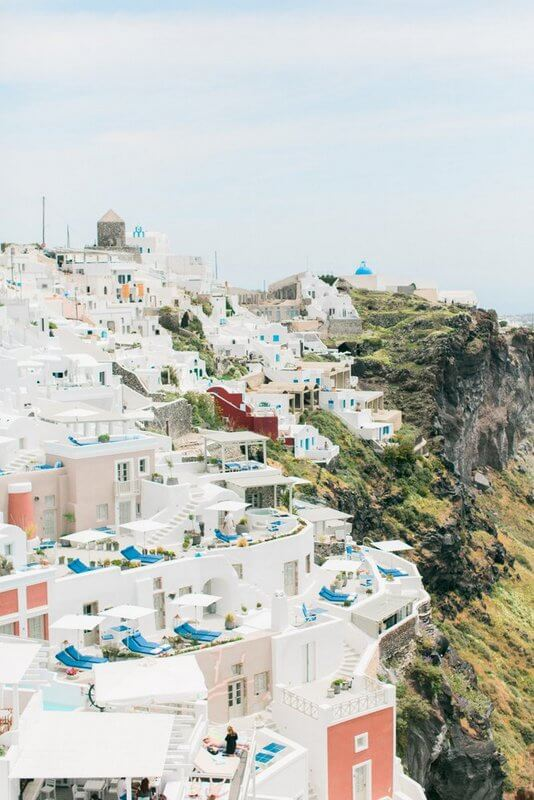 Your Wedding in Santorini - the traditional landscape - The Bridal Consultant