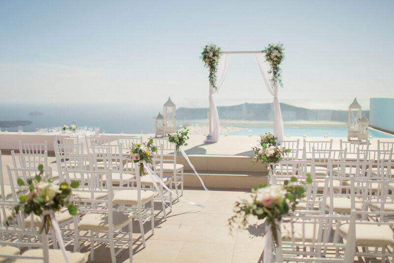 How To Plan your Wedding in Santorini By The Bridal Consultant